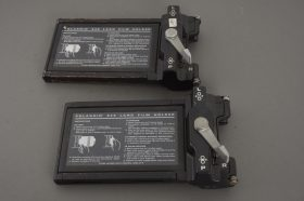 lot of 2x Polaroid 545 film back for 4×5 cameras