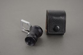 Asahi Pentax finder loupe, in pouch