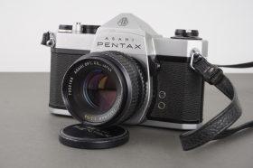 Asahi Pentax Spotmatic SP1000 with 2/55mm SMC Takumar