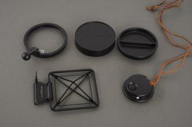 Hasselblad caps, focus handle, remote, sportsfinder