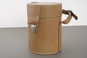 Hasselblad leather lens case, pressumably for 4/40 Distagon
