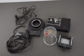 Hasselblad back, flash, cable, etc. – lot of accs.