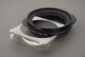 Contax gelatine filter holder with 70/86 ring