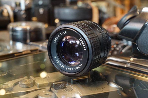 Nikon lens 2.8 / 100mm series E, AI-s