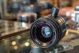 Nikon PC Nikkor 35mm 1:2.8, black knob
