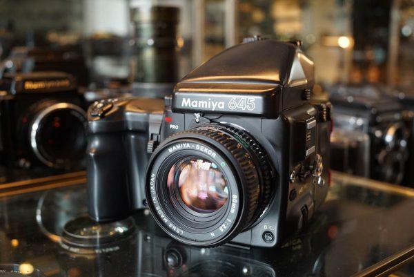 RESERVED: Mamiya 645 pro kit + Mamiya 2.8 / 80mm lens