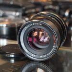 Voigtlander Color-Dynarex 2.8 / 85mm AR lens for Rollei QBM