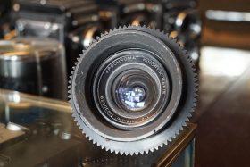 Kinoptik Apochromat 1/2 F=18mm, Cameflex mount