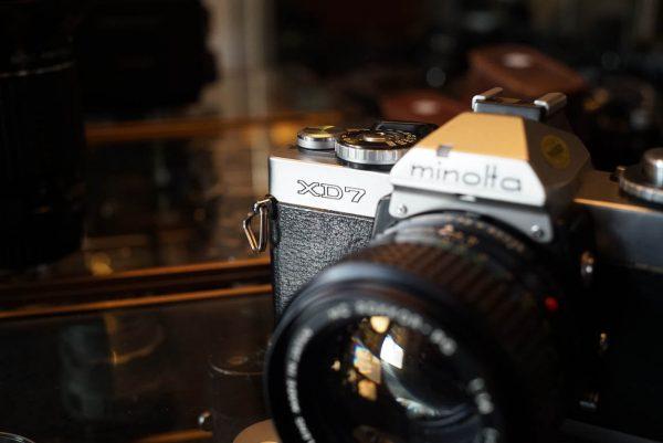 Minolta XD-7 + MC-Rokkor1:1.4 / 50mm
