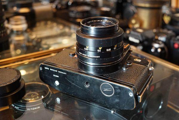 Leicaflex SL Black Paint + Elmarit 2.8 / 35 lens