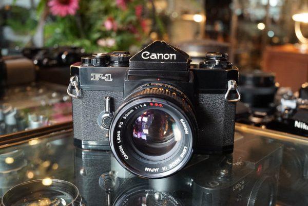 Canon F1 + Canon FD 1.4 / 50mm SSC lens
