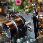 Mamiya M 1:4.5 / 180mm L SB lens + Shift-Tilt Adapter + Ground glass. For RZ67