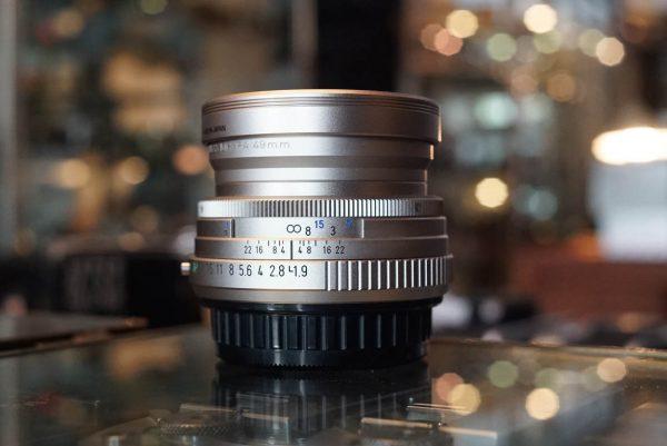 SMC Pentax FA Limited 43mm f/1.9 Silver