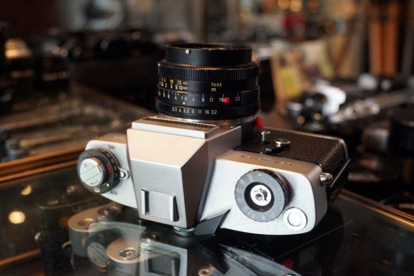 Leica Leicaflex SL + Elmarit-R 28mm f/2.8 2cam