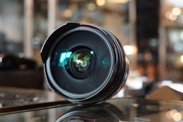 Leica Leitz Fisheye-Elmarit-R 16mm f/2.8 3cam boxed