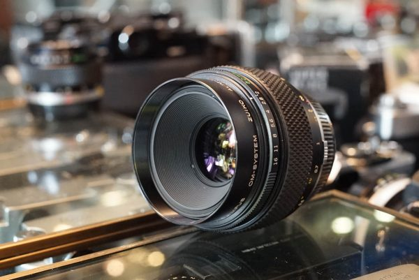 Olympus OM Zuiko 50mm f/2 Macro