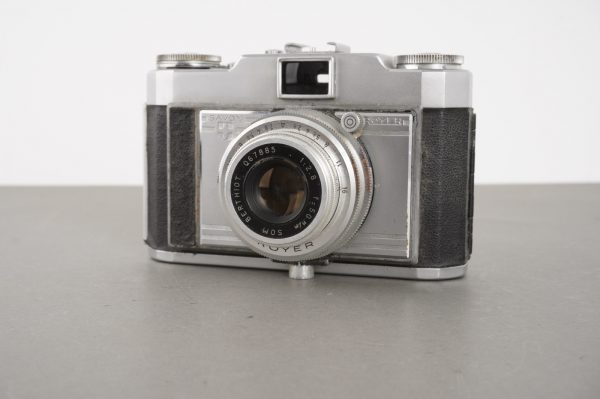 Savoy Royer camera with SOM Berthiot 50mm 1:2.8 lens