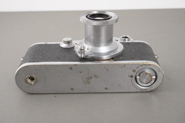 Leica III with Elmar 5cm 1:3.5 lens