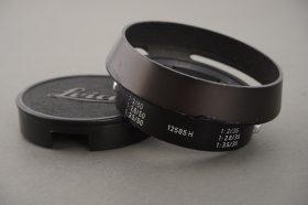 Leica Leitz 12585 H lens hood for 2/35 lens + cap
