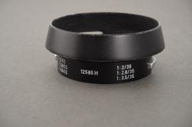Leica Leitz 12585 H lens hood for 2/35 lens