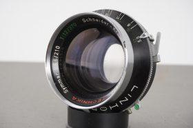 Linhof selected Schneider Symma4 1:5.6/210 lens