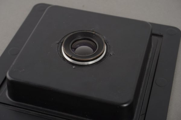 Schneider Angulon 120mm 1:6.8 on recessed Cambo board