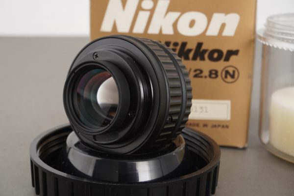 Nikon EL-Nikkor 50mm 1:2.8 N enlarger lens, boxed