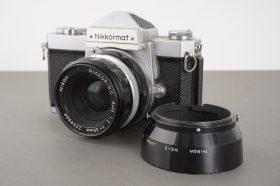 Nikon Nikkormat FTN + 2/50 Nikkor lens