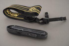 Nikon 90th anniversary wide strap + narrow strap