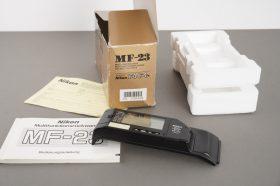 Nikon MF-23 Multi Control Back for F4 / F4s – boxed