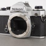 Nikon FE camera, defect