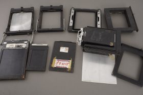lot of various camera parts and accs for LF cameras