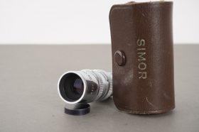 Simor 1.5 inch f/3.5 telephoto movie lens, D-mount, cased