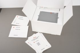 Leica R8 empty box + presentation case + papers