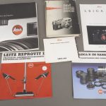 various literature and manuals, Leica and Hasselblad mostly, all in German