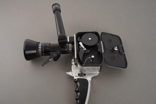 Pailard Bollex 8mm camera with 8-40mm f/1.9 Pan-Cinor SOM Berthiot lens