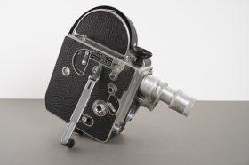 Bolex H16 movie camera, with SOM Berthiot and Cooke lenses
