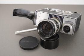 Bolex K1 camera with Vario-Switar 8-36mm 1:1.9 lens