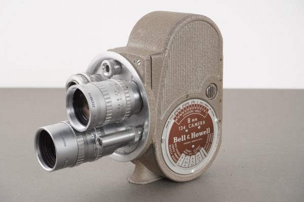 Bell Howell 134 8mm film camera with Taylor Hobson lenses