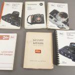 lot of 6x various Leica catalogues