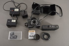 Rollei SL26 camera with assorted lot of Rollei accs.