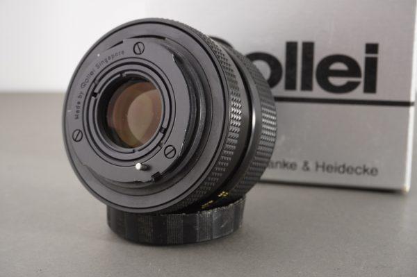 Rollei HFT Planar 1:1.8/50mm for Rolleiflex SLR, QBM, in wrong box