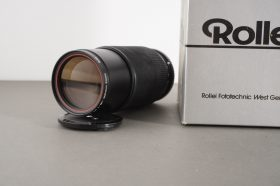 HFT Rolleinar 1:4 80-200mm zoom lens for SL35 SLR, QBM mount