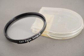 Hasselblad B60 mount Softar II filter, in Rollei case