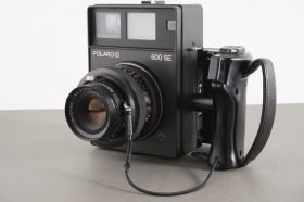 Polaroid 600 SE camera with 127mm Mamiya Sekor lens