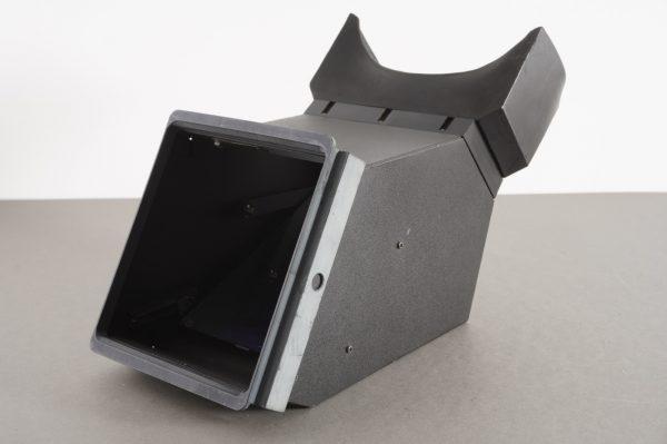 Reflex housing for Sinar 4×5 camera, probably custom made – sturdy