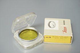 Leica Leitz Yellow 1 filter, E39 mount (boxed)