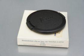 Leica 14289 E55 front lens cap, Boxed