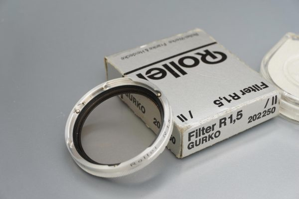 Rollei Rolleiflex filter, Bay II, R1,5, Boxed