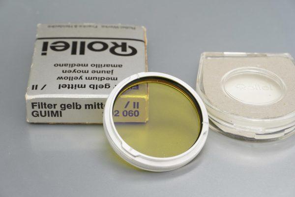 Rollei Rolleiflex filter, Bay II, Gelb-Mittel, Boxed